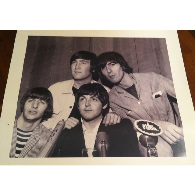 Beatles Press Conference Signed Photograph - Image 3 of 10