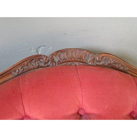 Antique 1900s Louis XV Large Scale Armchair - Image 6 of 9