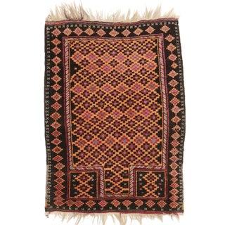 RugsinDallas Afghan Turkmen Tribal Rug - 2′8″ × 3′7″