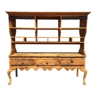 Pine Wood Hutch & Table