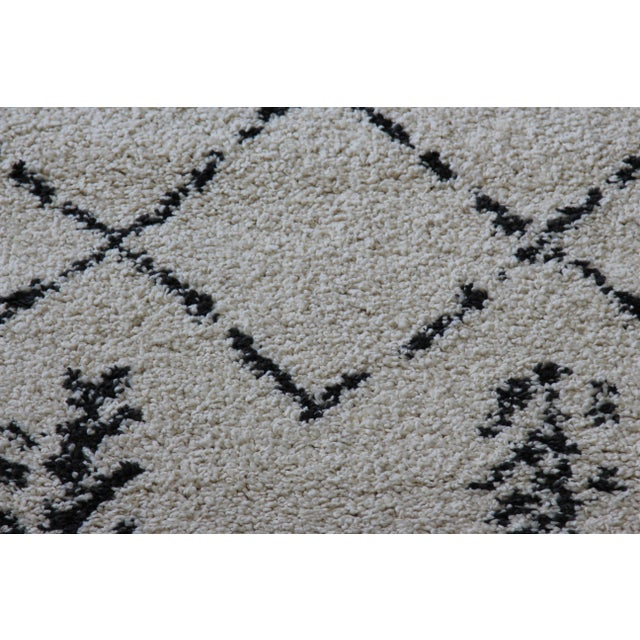 Contemporary Plush Rug with Moroccan Design - 8' x 11' - Image 6 of 9