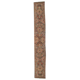 """Antique Malayer Carpet Runner - 2'5"""" x 16'6"""""""