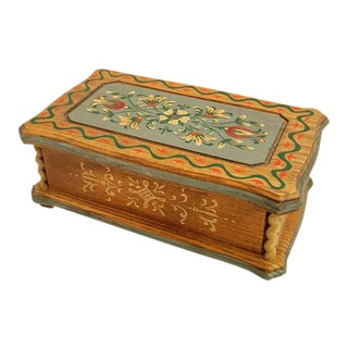 Vintage Reuge Musical Jewelry Box