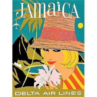 Vintage Reproduction Jamaica Travel Poster
