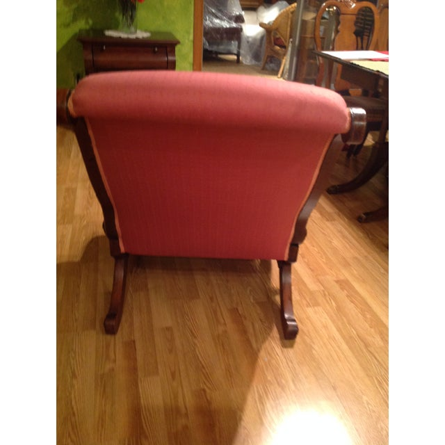 Image of Rose Colored Chair