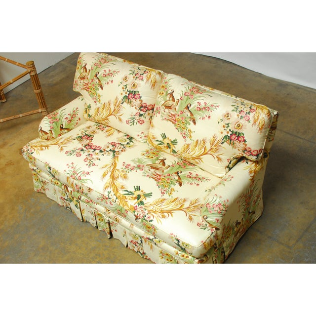 Brunschwig & Fils French Upholstered Toile Sofa - Image 5 of 10