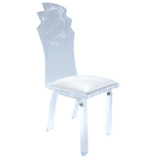 Hollywood Regency Lucite Chair