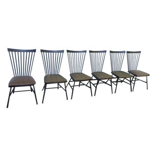 1950's Mid-Century Metal Dining Chairs - 6