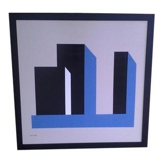 1959 Original Hard-Edge Abstract