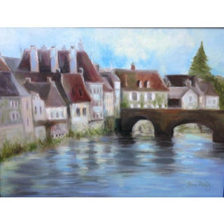 French Country Village Painting by Janna Phillips