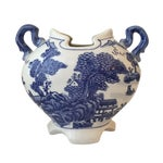 Image of Blue and White Chinese Urn