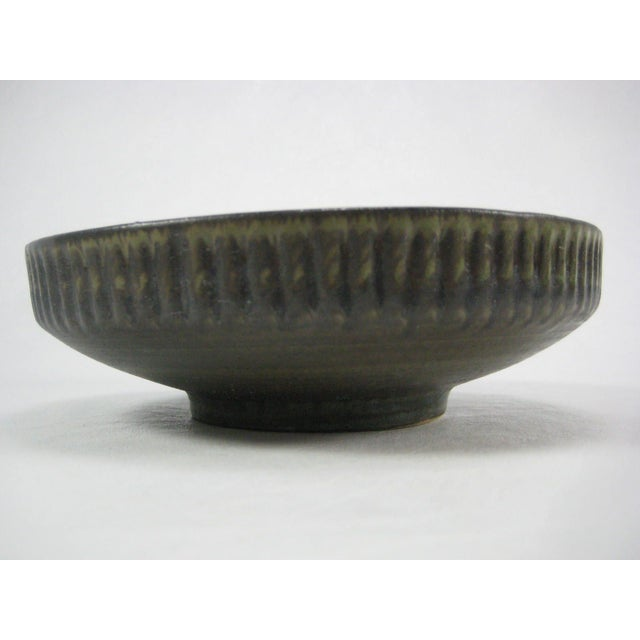 Vintage 70s Israel Lapid Art Pottery Bowl - Image 5 of 8