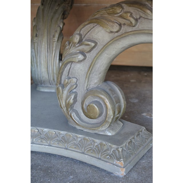 Image of Acanthus Carved Italian Coffee Table