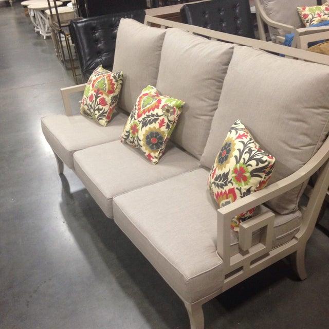 Lane Venture Gray Outdoor Sofa - Image 4 of 9