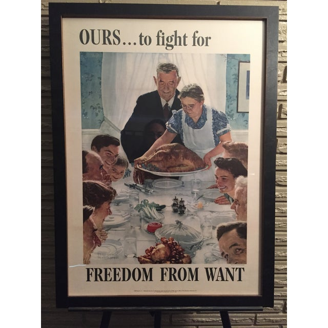 Four Freedoms Posters by Norman Rockwell - Image 4 of 6