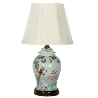 20th Century Chinese Ginger Jar Lamp