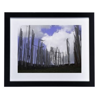 Framed Original Photograph: Prayer Flags
