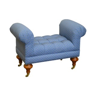 Calico Corners Regency Style Tufted Bench