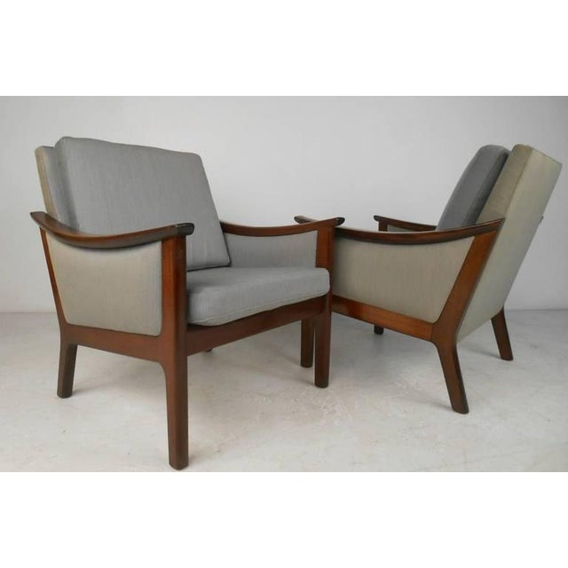 Mid-century Ole Wanscher Style Living Room Suite - Image 2 of 10