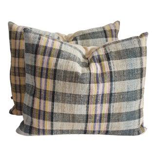 Rag Rug Pillows