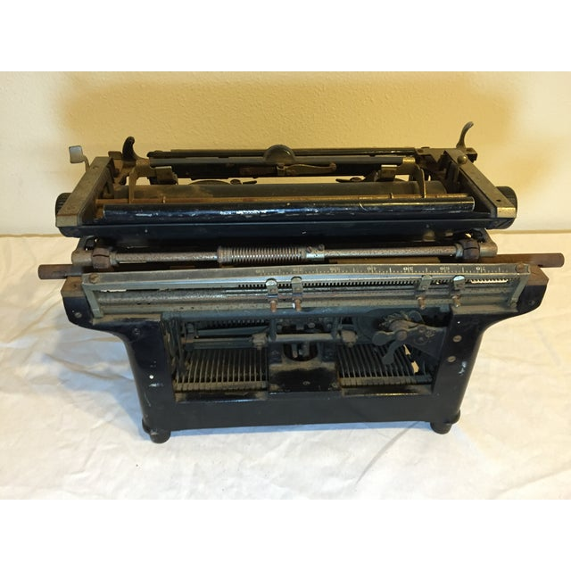 Antique 1908 Black Underwood Typewriter - Image 5 of 11