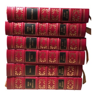 Easton Press Collector's Edition of Jane Austen Novels - Set of 6