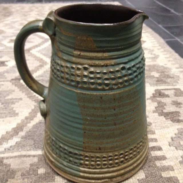 Vintage Studio Pottery Pitcher - Image 4 of 6