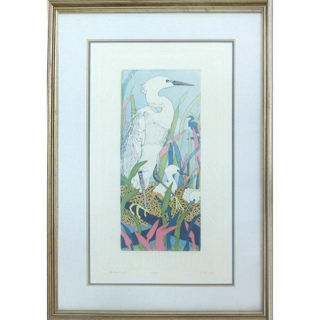 "Judith Hall ""The Rookery"" Intaglio Print - Image 1 of 10"