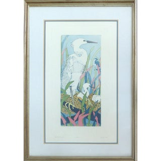 "Judith Hall ""The Rookery"" Intaglio Print"