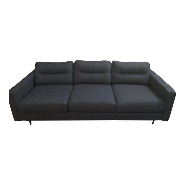 Gus Modern Sterling Gravel Logan Sofa - Image 1 of 5