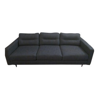 Gus Modern Sterling Gravel Logan Sofa