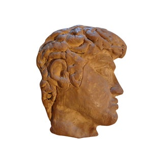 French Terra Cotta Greek Inspired Profile