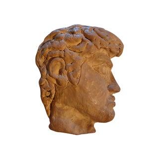 French Terra Cotta Greek Inspired Profile