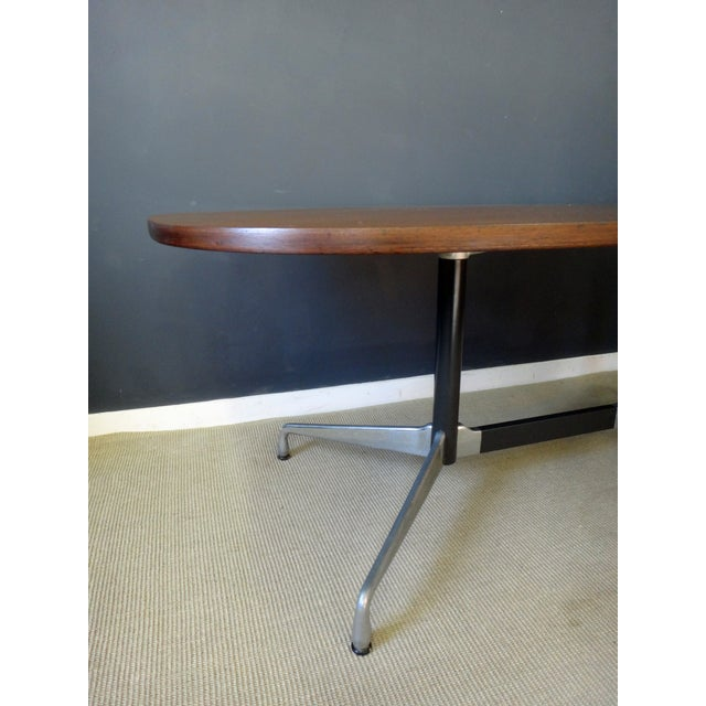 Eames for Herman Miller Large Oval Table - Image 4 of 7