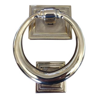 Rejuvenation Classic Ring Door Knocker