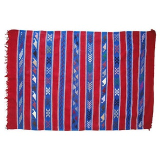 Berber Catus Silk Striped Textile