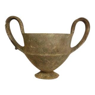 Ancient Greek Kantharos Pottery Vase
