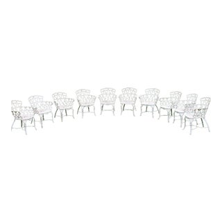 Vintage Tavern on the Green Patio & Lawn Chairs - Set of 10