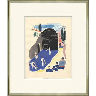 'Le Joies De Sport' Framed Print