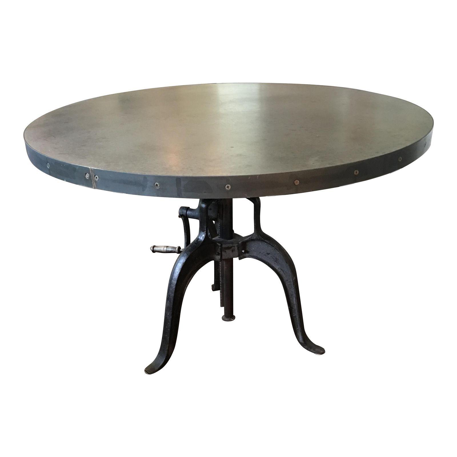 Industrial Adjustable Height Dining Table Chairish : 673a0083 ca4b 475c 808d 55760b1909c5aspectfitampwidth640ampheight640 from www.chairish.com size 640 x 640 jpeg 21kB