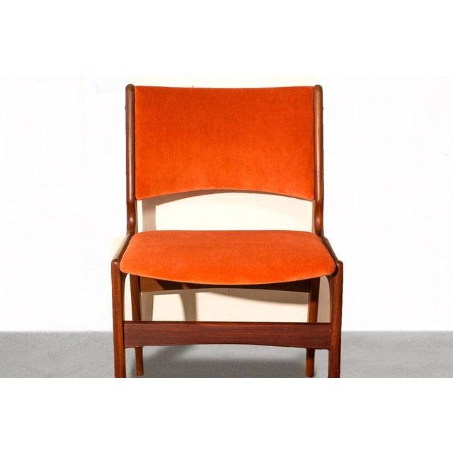 Arne Vodder Style Teak Side Chairs - Set of 4 - Image 5 of 9