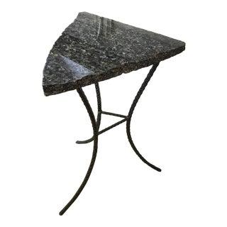 Unique Custom Granite Accent Table