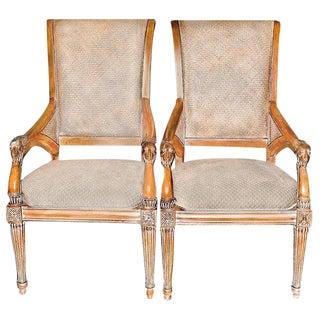 Louis XVI Style Fauteuils - A Pair