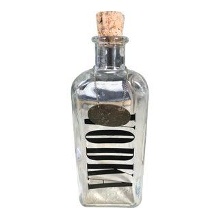 Vintage Chain Label Vodka Decanter