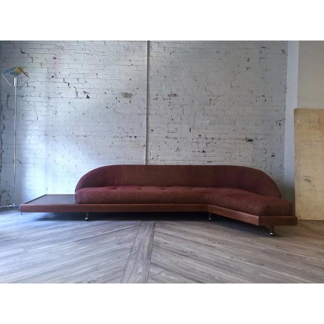 Mid-Century Modern Floating Platform Sofa - Image 2 of 4