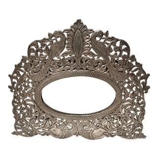 Antique Silver Rajasthan Mirror