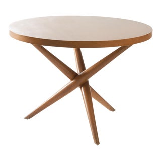 Tripod base occasional tables by T H Robsjohn-Gibbings for Widdicomb