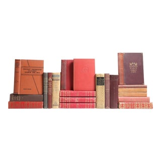 Earthtone French Classic Books - Set of 20
