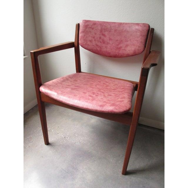 Danish Modern Finn Juhl Teak Armchairs - A Pair - Image 5 of 10