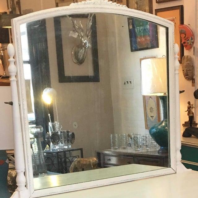 Vintage Hand Painted Dresser & Mirror - Image 7 of 9